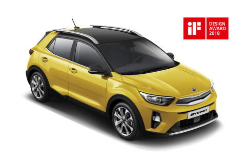 Kia Stonic får pris i 2018 iF Design Award