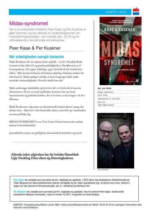 Midas-syndromet af Peer Kaae & Per Kuskner