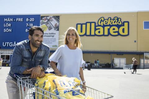 Konsumenterna utser Gekås Ullared till Västsveriges favoritcentrum 2019