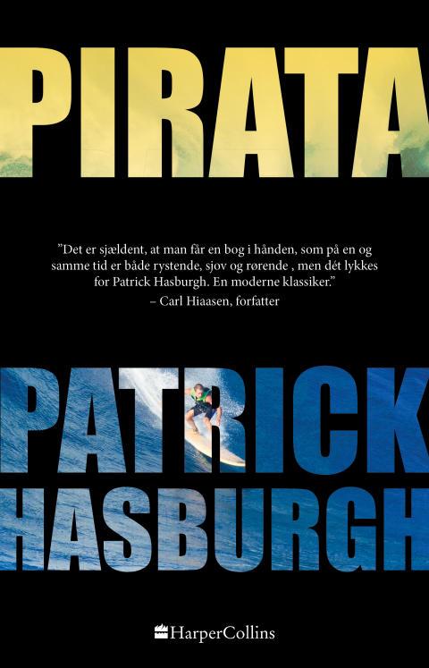 Nyhed på vej fra HarperCollins: PIRATA af Patrick Hasburgh