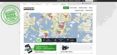 Uusi HAKKAPEDIA-palvelu parantaa liikenneturvallisuutta mobiililaitteiden avulla