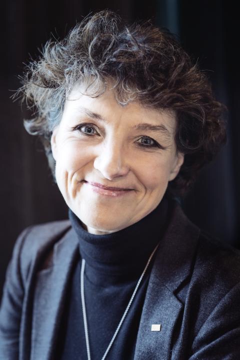 Cecilia Rydinger Alin, rektor för Kungl. Musikhögskolan i Stockholm. Foto: Mira Åkerman.