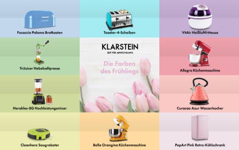KLARSTEINs Farben des Frühlings