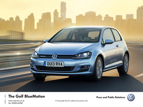 The new Golf BlueMotion: more driving, less fill-ups!