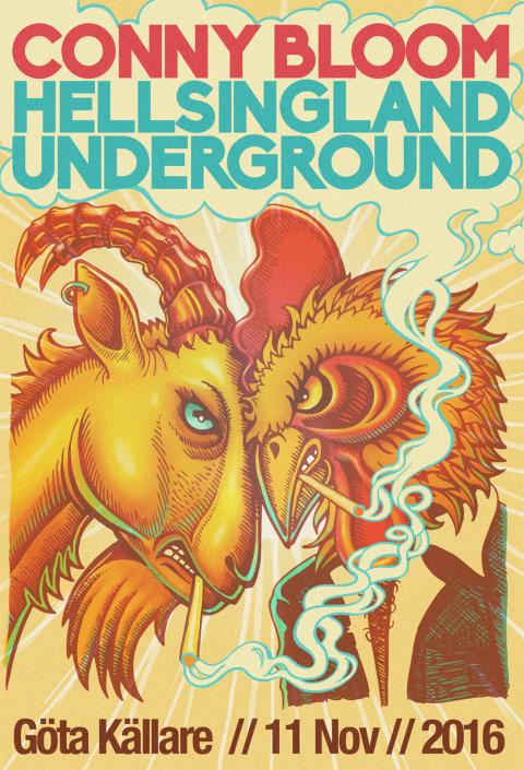 Hellsingland Underground & Conny Bloom = Sant!