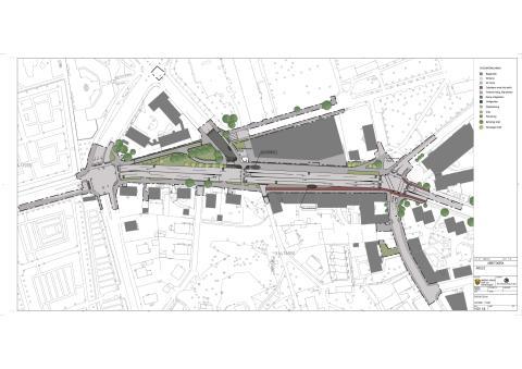 Illustrationsplan för Storgatan