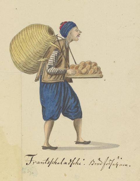 Teckning av Johan Hedenborg