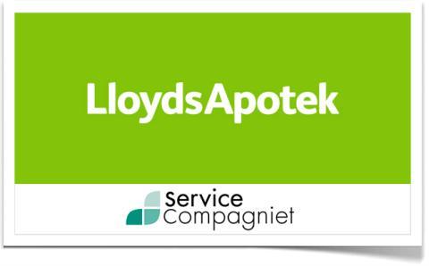 LloydsApotek väljer ServiceCompagniet för all städning
