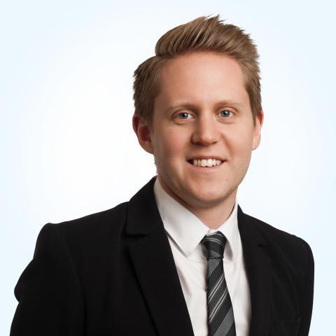 Viktor Backemar ny marknadschef på Groth & Co