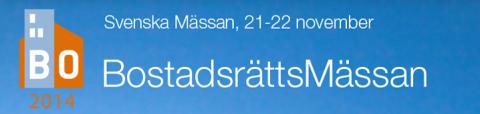 SafeTeam på BostadsrättsMässan i Göteborg, 21-22 nov 2014