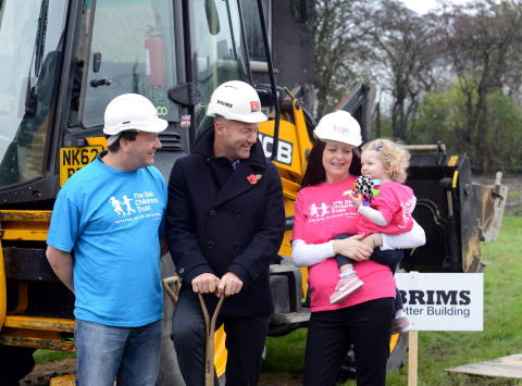 Freeman 'Home from Home' groundbreaking
