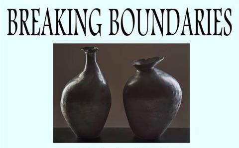 Gunilla Dovsten - en av utställarna på Breaking Boundaries i Karlskoga
