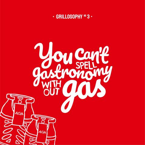 Grillosofi: ny kampanje for AGAs propanautomater
