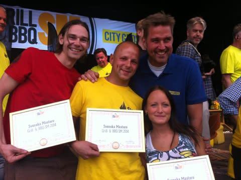 De blev svenska mästare i grill & BBQ 2014