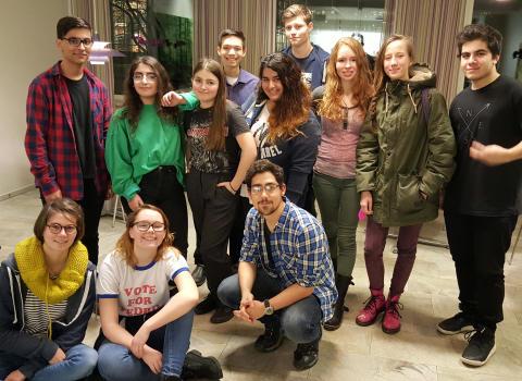 Serendipity Cafe för samman språkintresserade elever på Rudbeckianska