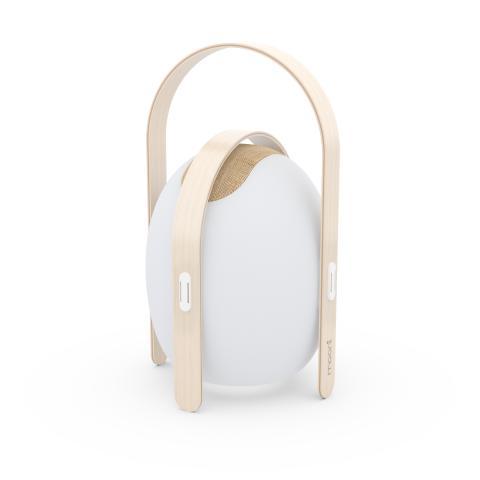 Trådlös högtalare och lampa, large - frilagd