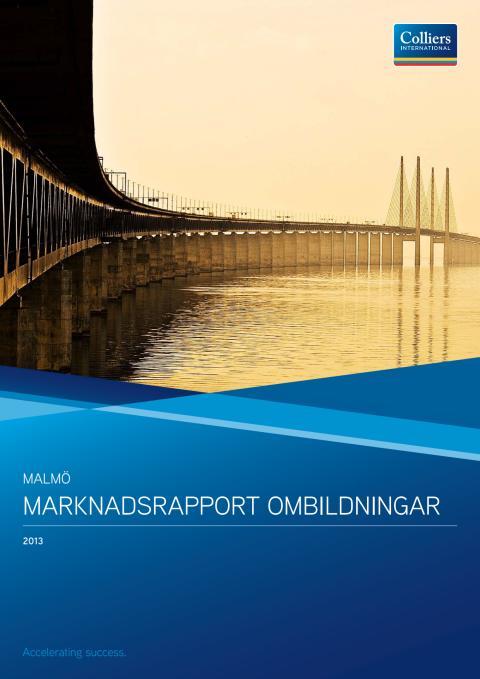 Ombildningsrapport Malmö 2013