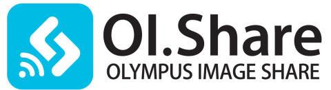 Logo, Olympus Image Share - enkel delning av bilder till sociala nätverk