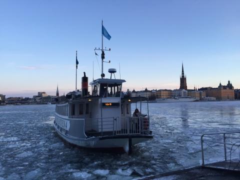 Pendelbåtslinje 85 ska avlasta Slussen