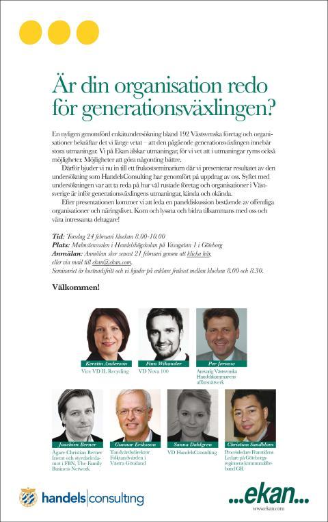 Är din organisation redo för generationsväxlingen?