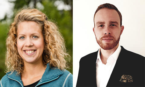 Två förebilder blir Årets alumner vid Mittuniversitetet