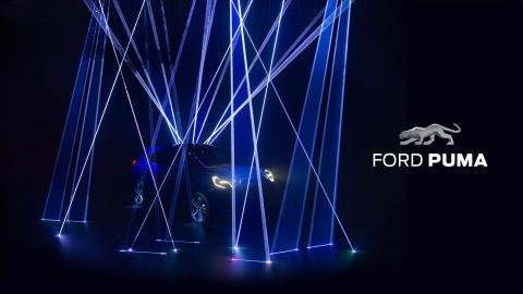 Ford visar upp första bilderna av nya Ford Puma