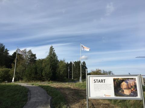 """""""Trollstigen"""", Sigtuna, Riksbyggen"""