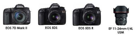 Canon får tre högt ansedda EISA-utmärkelser för EOS kameror och EF-objektiv