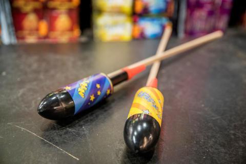 Nya regler för raketer med styrpinne