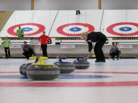 Curling: Elitserien mixed dubbel avgjord