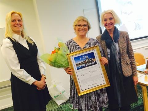Karin Nygårds får Dataföreningens pris