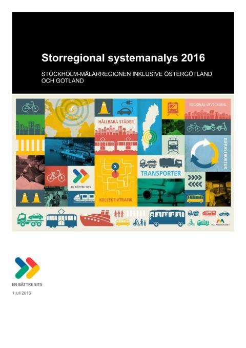 Mälardalsrådets systemanalys