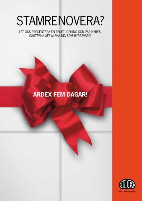 ARDEX Fem dagar