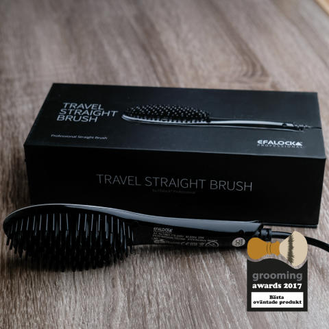 Grooming Awards 2017 - Bästa oväntade produkt, Efalock Travel Straight Brush