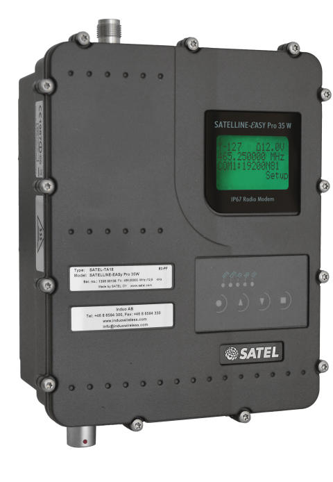 SATELLINE-EASy Pro 35 W radiomodem