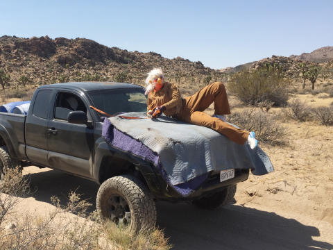Tori Wrånes & Skylar Haskard, «Desert Troll Technique», 2016.