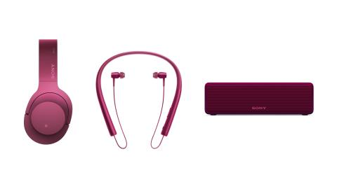 GO. ON. IN. Explore the vibrant world of High-Resolution Audio with new Sony's h.ear line-up