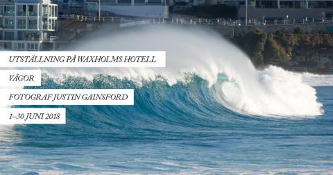 """Utställningen """"Vågor"""" med Justin Gainsford kommer till skärgården"""