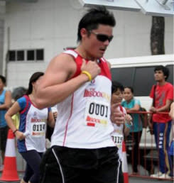 Dingdong Dantes to run for children's survival