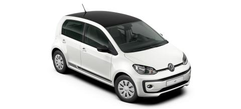 Volkswagen introducerer ny kampagnemodel: white design up!, der kan privatleases for 1.799 kr./md