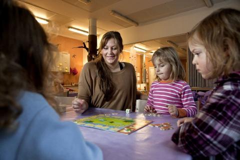 Förskolan viktig för barns tidiga matematiklärande