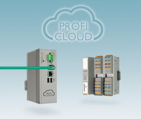 Cloud system for PROFINET simplifies distributed automation