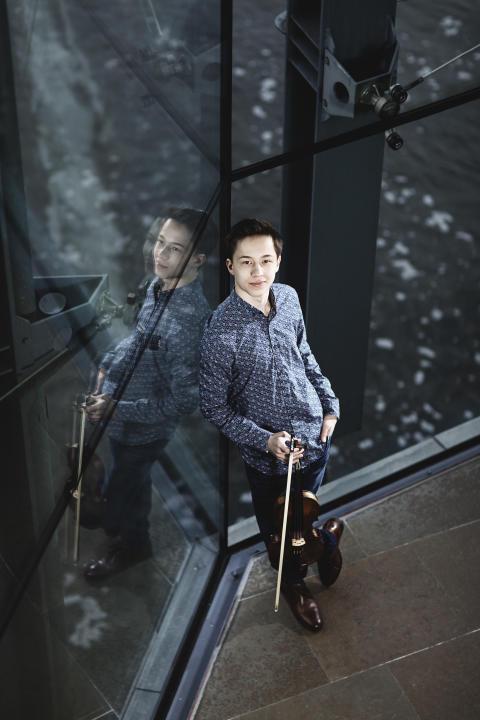 Johan Dalene med SON-musiker