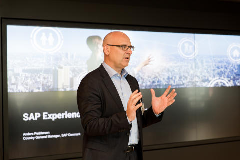 Anders Feddersen_Country Manager SAP Denmark at opening of CXC CPH