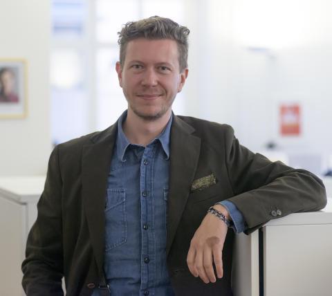 Tommy Sollén, ansvarig för digital insamling och marknadsföring