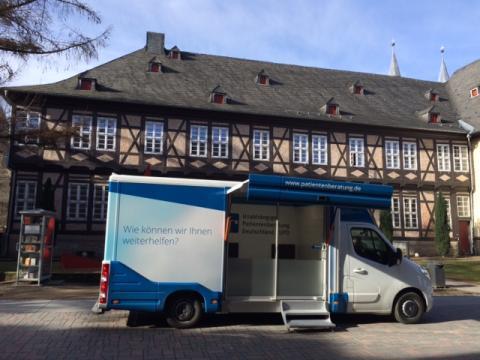 Beratungsmobil der Unabhängigen Patientenberatung kommt am 10. November nach Goslar.