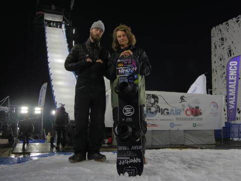 världscup premiär i Milano för landslaget i snowboard