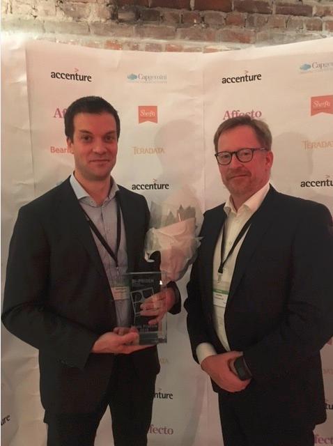 Årets BI-Pris til Arcus med løsning basert på moderne teknologi fra SAP