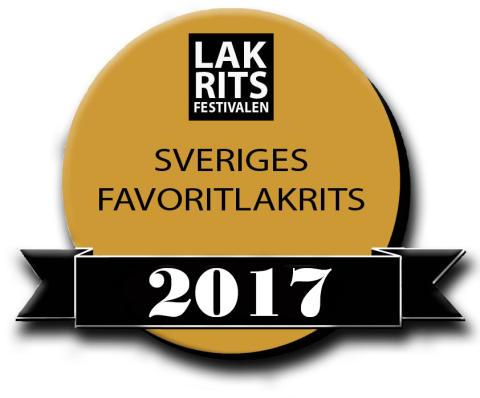 Vilken lakrits blir Sveriges Favoritlakrits 2017?
