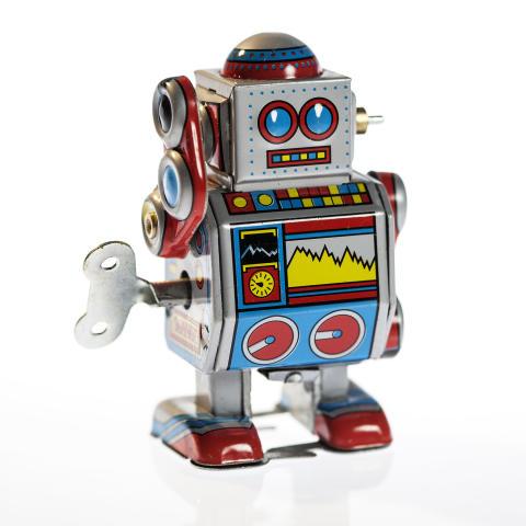 Robot. Foto: Anna Gerdén